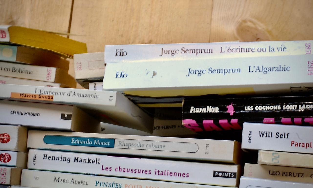 Don de livres - Librairie nomade en Essonne
