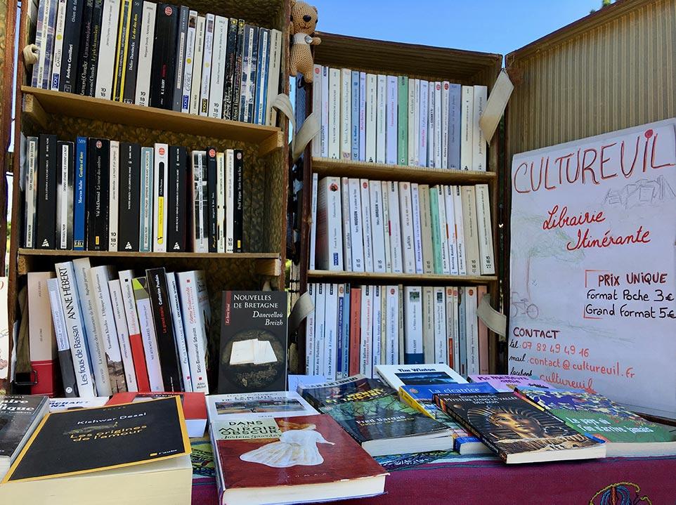 Vente de livres - Librairie nomade en Essonne